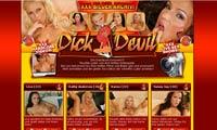 Anal-dildo bei DickDevil.com